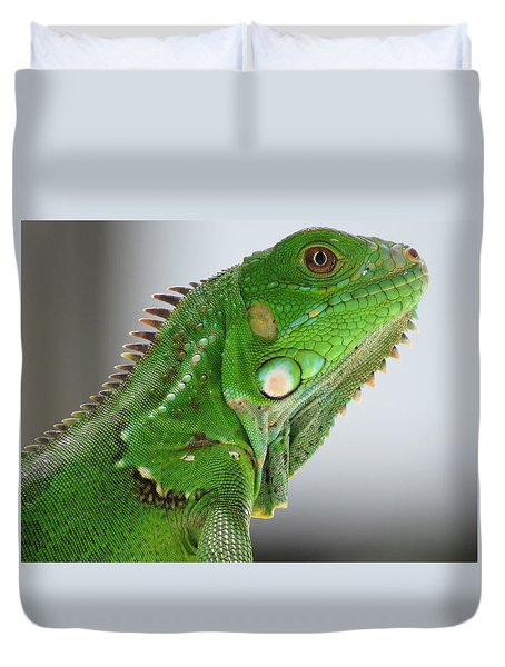 The Omnivorous Lizard Duvet Cover