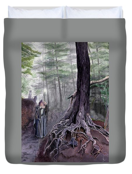 The One-eyed Wanderer Duvet Cover