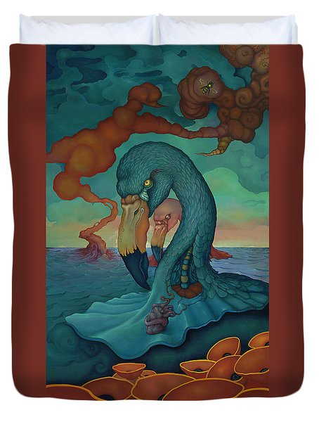 The Only Thing That Will Have Mattered Duvet Cover by Andrew Batcheller