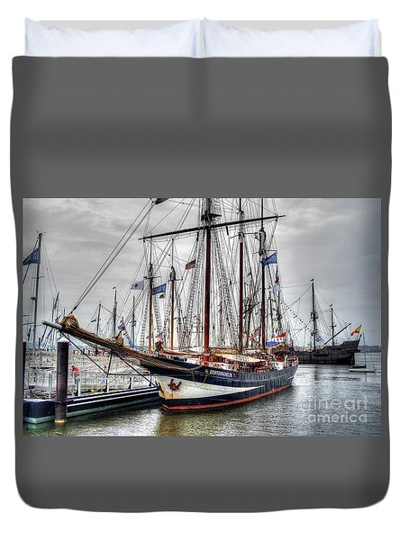The Oosterschelde Duvet Cover
