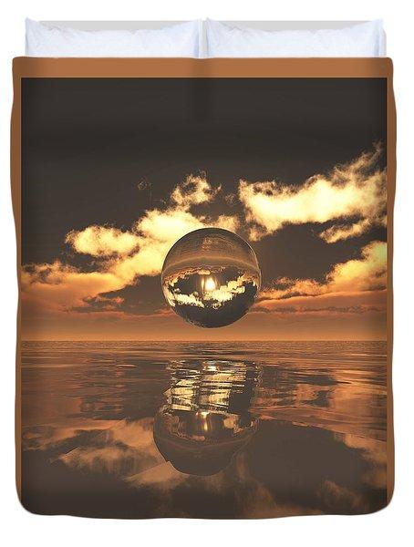 The Orb Duvet Cover