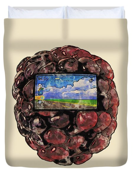 The Blackberry Concept Duvet Cover