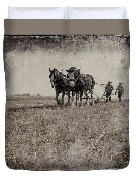 The Original Horsepower Duvet Cover