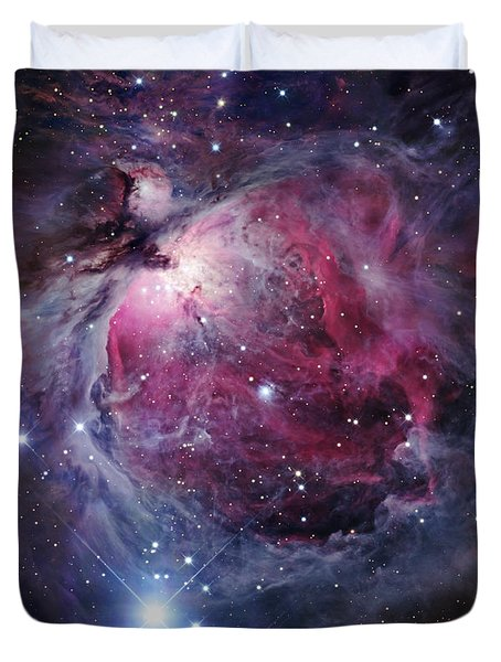 Duvet Cover featuring the photograph The Orion Nebula by Robert Gendler