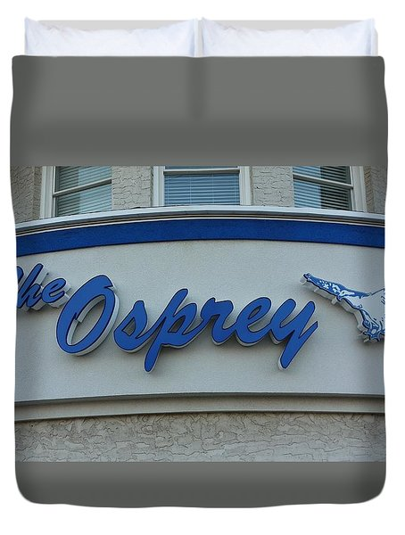 The Osprey Marqee Duvet Cover