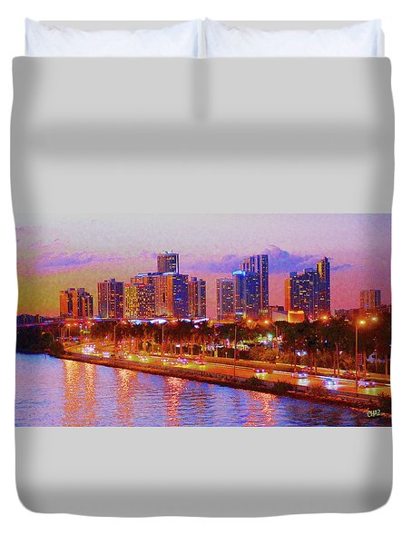 The Outer Drive Duvet Cover