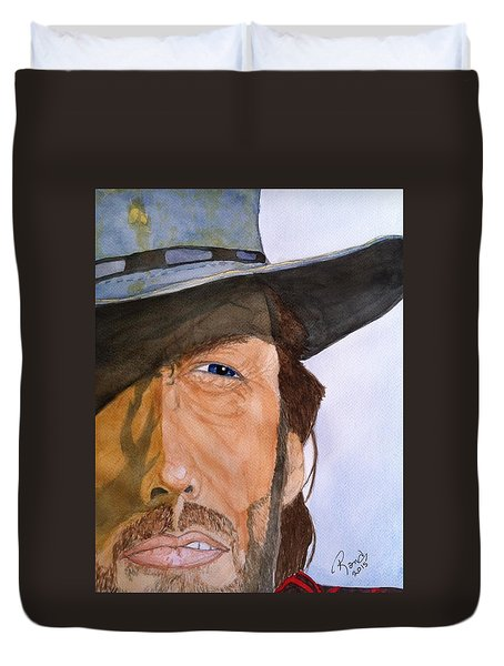 The Outlaw Josey Wales Duvet Cover by Rand Swift