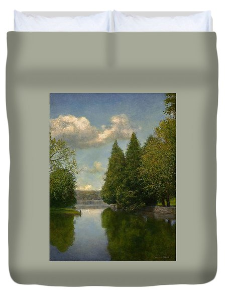 The Outlet Duvet Cover by Wayne Daniels