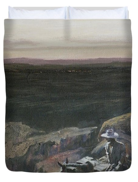 The Overlook Duvet Cover by Mia DeLode