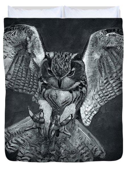 The Owl 2 Duvet Cover