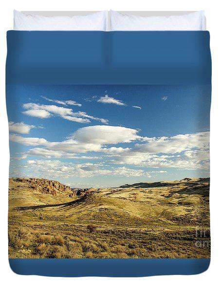 The Owyhee Desert Idaho Journey Landscape Photography By Kaylyn Franks  Duvet Cover