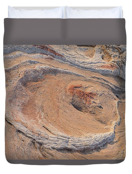 The Oyster At Sunset Horizontal Duvet Cover