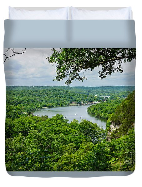The Ozarks Duvet Cover