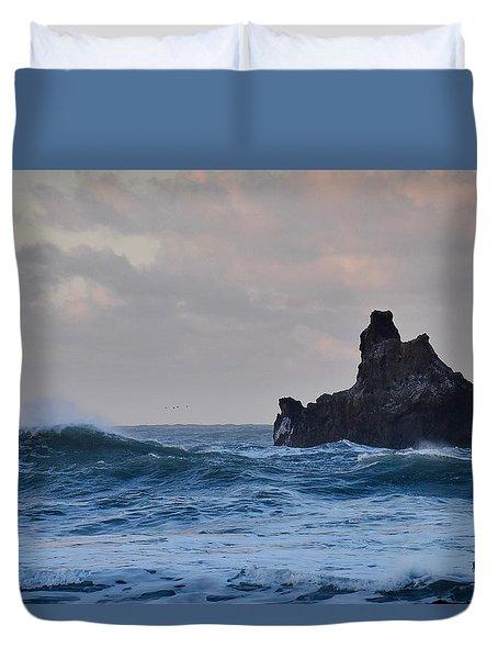 The Pacific Ocean Duvet Cover