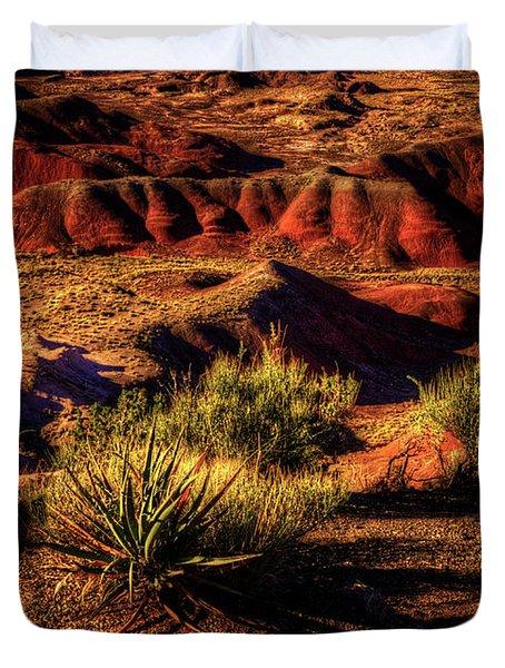 The Painted Desert From Kachina Point Duvet Cover