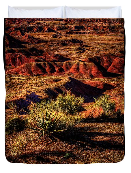 The Painted Desert From Kachina Point Duvet Cover