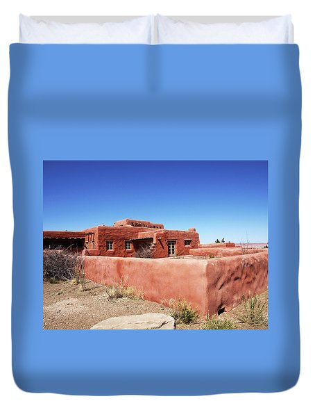 The Painted Desert Inn Duvet Cover