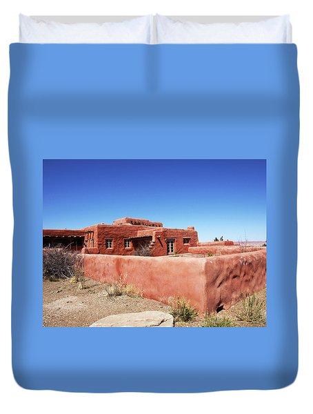 The Painted Desert Inn Duvet Cover