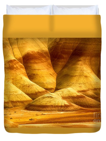 The Painted Hills Duvet Cover