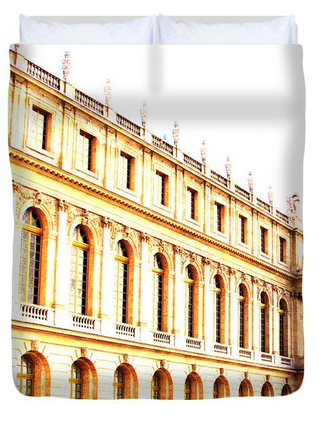 The Palace Duvet Cover by Amanda Barcon