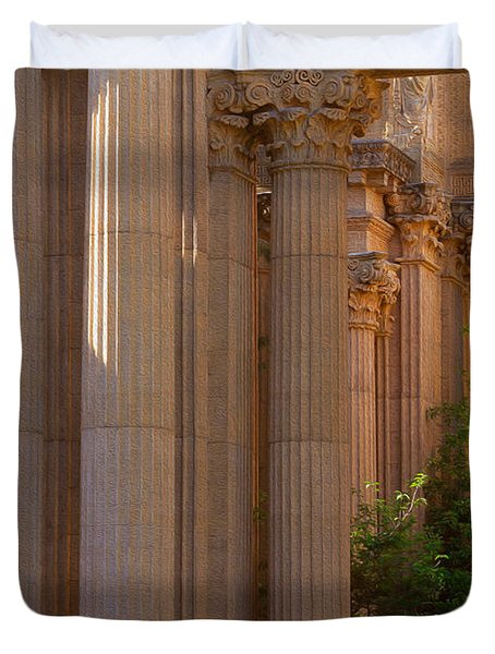 The Palace Columns Duvet Cover