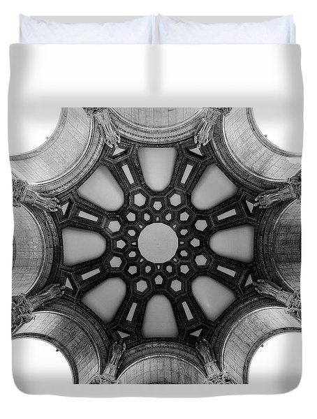The Palace Of Fine Arts Dome Duvet Cover