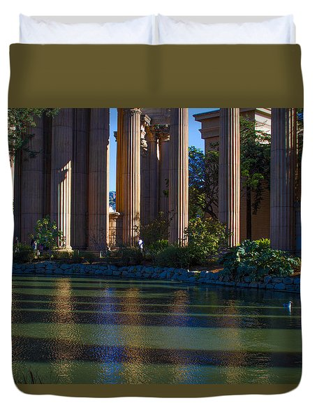 The Palace Pond Duvet Cover
