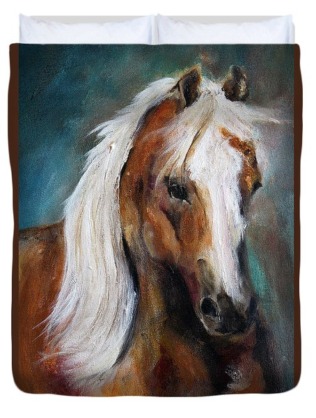 The Palomino I Duvet Cover