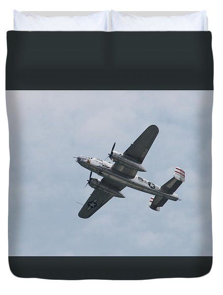 Duvet Cover featuring the photograph The Panchito by Robert Banach