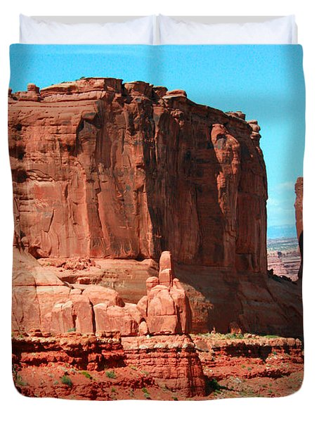 The Park Avenue Courthouse Spectacle Duvet Cover