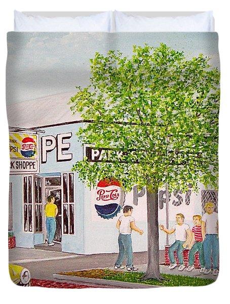 The Park Shoppe Portsmouth Ohio Duvet Cover