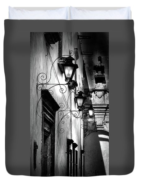 The Passage Way Duvet Cover