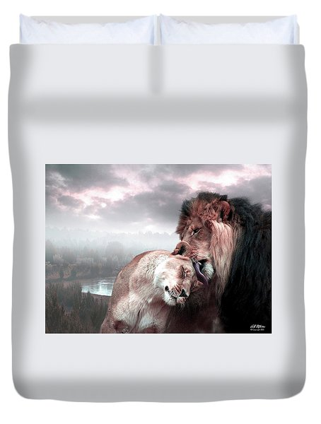 The Passion Duvet Cover