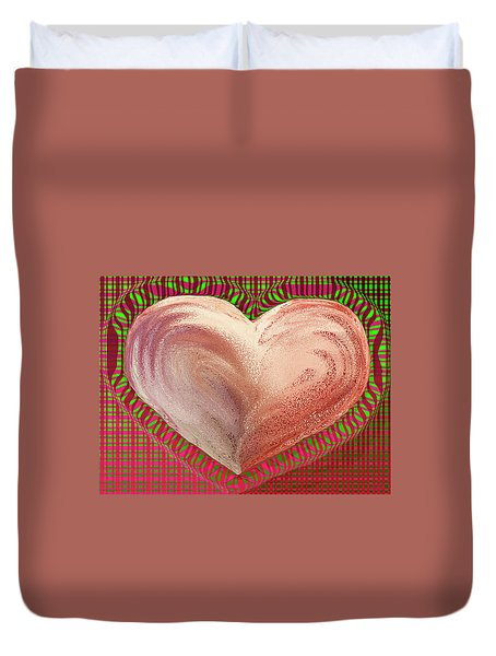 The Passionate Heart Duvet Cover