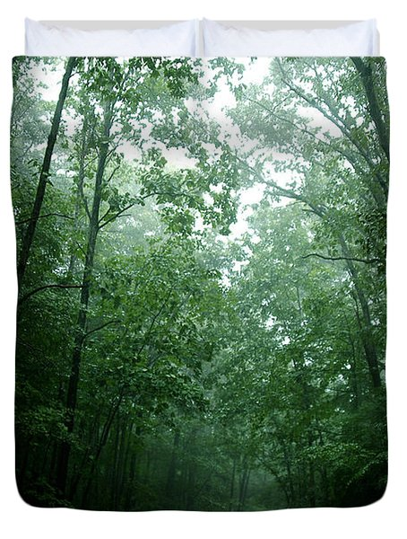 The Path Ahead Duvet Cover by Clayton Bruster