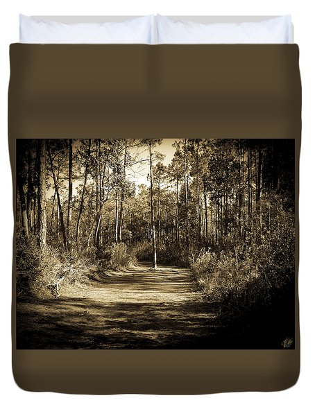 The Path Before Me, No. 6 Duvet Cover