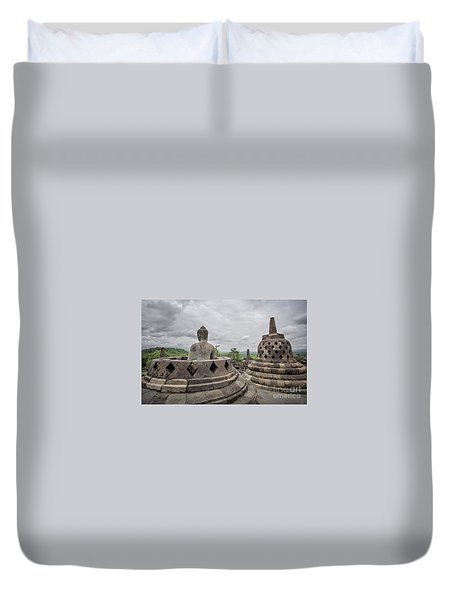 The Path Of The Buddha #5 Duvet Cover