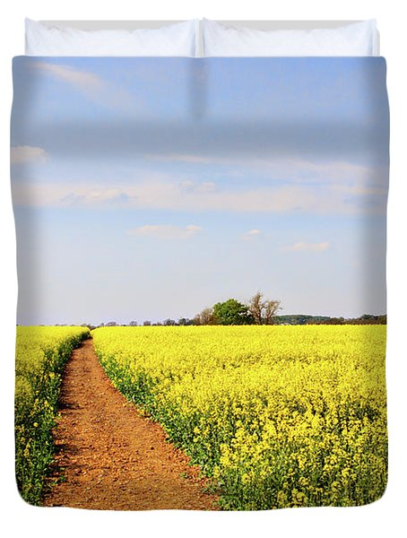 The Path To Bosworth Field Duvet Cover