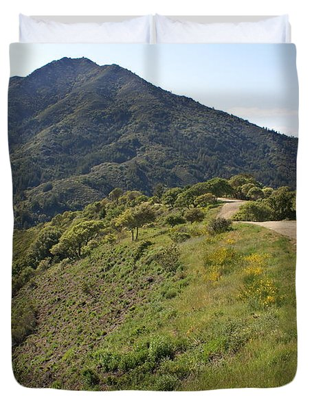 The Path To Tamalpais Duvet Cover