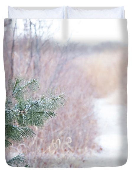 The Path Untraveled  Duvet Cover