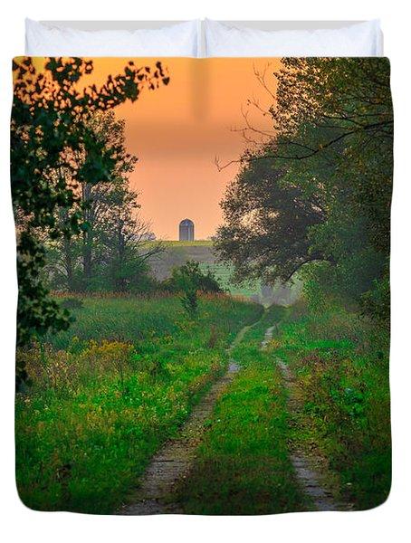 The Path We Follow Duvet Cover