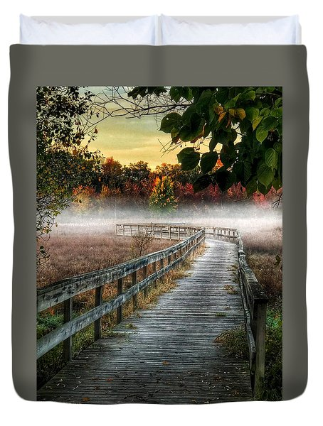 The Peaceful Path Duvet Cover