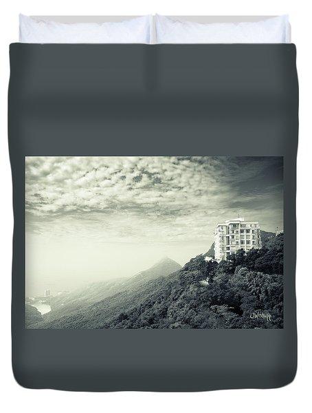 The Peak Duvet Cover by Joseph Westrupp