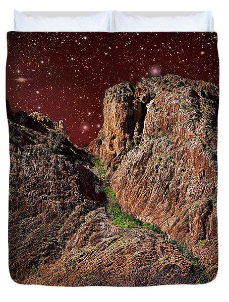 The Peak Duvet Cover