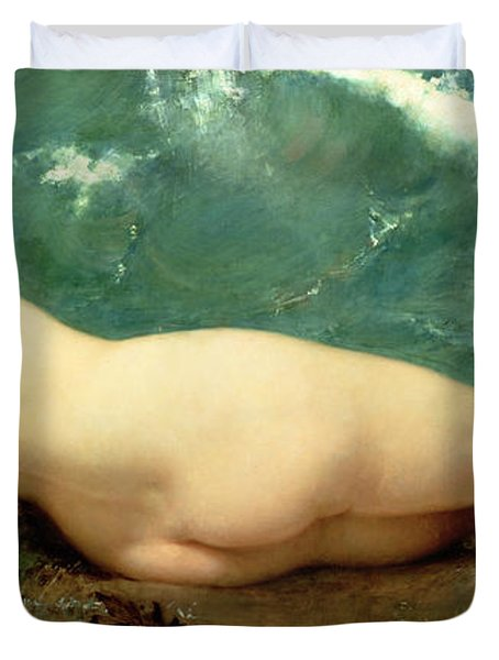 The Pearl And The Wave Duvet Cover by Paul Baudry