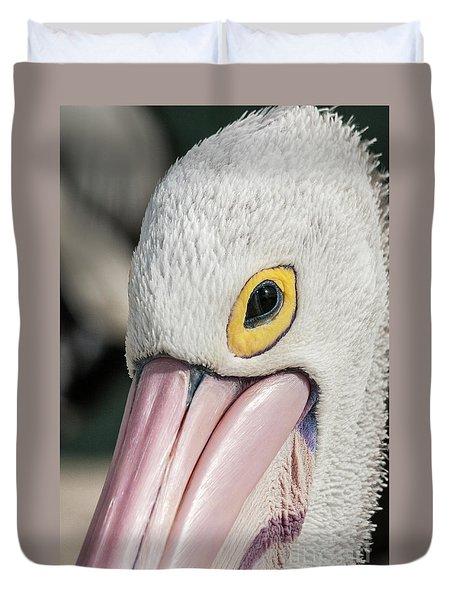 The Pelican Look Duvet Cover by Werner Padarin