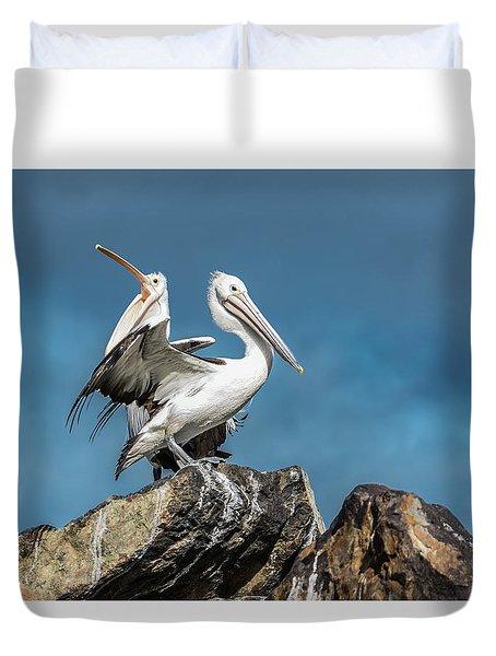 The Pelicans Duvet Cover