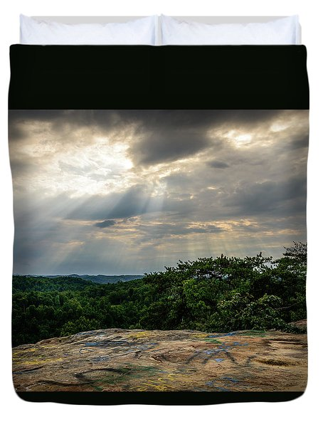 The Peoples Rock Duvet Cover