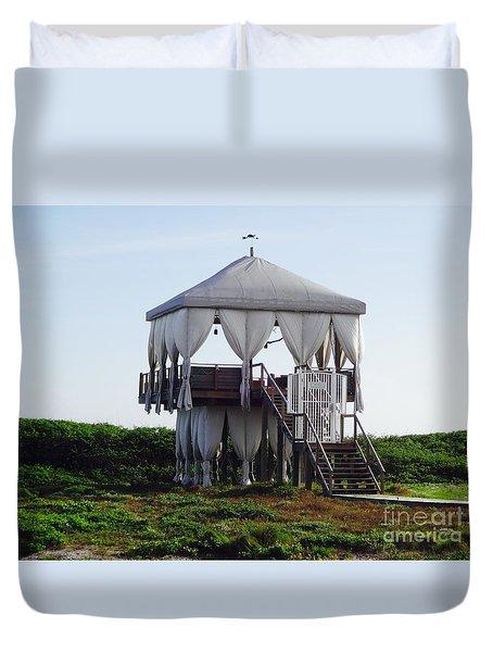 The Perch In Alys Beach Duvet Cover