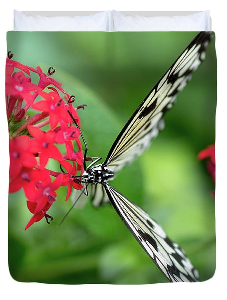 The Perfect Butterfly Land Duvet Cover